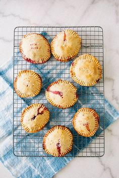 Raspberry Chocolate Hand Pies