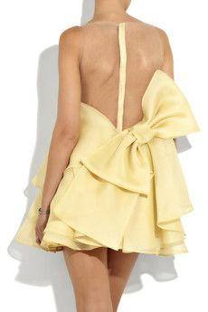 I Live For It: Valentino Silk Ruffle Dress