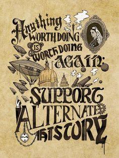 support alternative history!