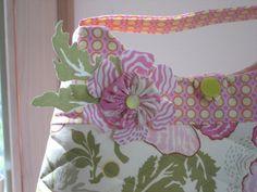 poppy bag  | by antiquebasketlady