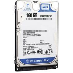 WD1600BEVE Western DigitalScorpio Blue 160GB 5400 RPM 8MB Notebook Hard Drive