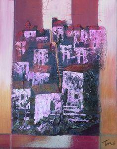 Vecchi muri 50x70 cm Luigi Torre painter 2015