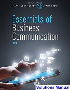 52 best solution manual download images on pinterest essentials of business communication 10th edition guffey solutions manual test bank solutions manual fandeluxe Images