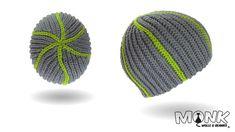 Mütze häkeln bosnisch - Snake Beanie - Kettmaschen häkeln