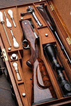 Westley Richards, take Down, Oak & leather case