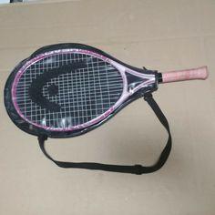 Girlz Pink Tennis Racquet Art 3 with Carrying Cover Racquet Sports, Tennis Racket, Pro Tennis, Arthur Ashe, Jr, Cover, Pink, Teaching, Ebay