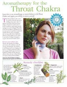 Young Living Essential Oils: Throat Chakra Http://www.psychicreadinglounge.com