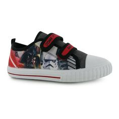 Boys Star Wars Canvas Trainers