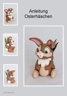 Anleitung Osterhase aus Fondant                                                                                                                                                      Mehr