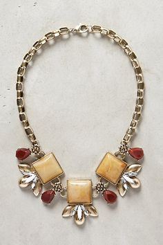 Piedra Bib Necklace - anthropologie.com