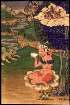 Indian Adept (siddha) - Padmavajra
