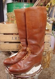 vintage abercrombie & fitch boots