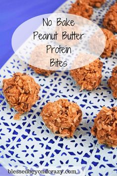 These No Bake Peanut Butter Protein Bites are an all time favorite at our house! Everyone LOVES them! And we always fight over the last few bites!  It's easy to see why we love these so much! They take just a few minutes to make They are healthy They are full of protein so …