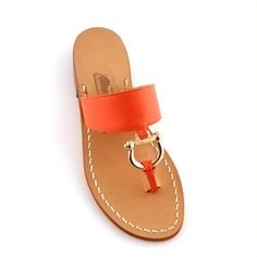 cute sandals, love the hardware