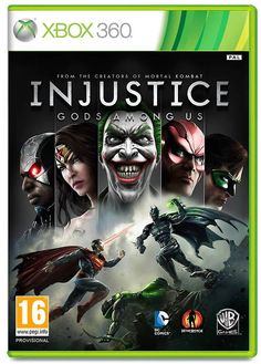 Injustice: Gods Among Us for Xbox 360.