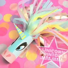 My original unicorn tube craft is better than ever, download it now for a fantastic, magically good time! Add your own streamers and sparkle to bring this unicorn to life!