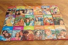 Vintage Harlequin Romance Books Novels Lot of 18 (08/21/2014)