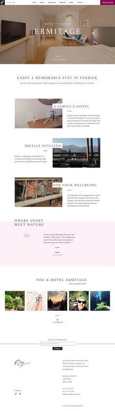 stratégie digitale   webdesign   hotel   Verbier, Valais #digitalidentity #digitalstrategy #webdesign #verbier #valais #lausanne Identity, Web Design, Lausanne, Studio, Design Web, Studios, Personal Identity, Website Designs, Site Design