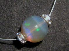 Gorgeous Australian Opal Wire Necklace
