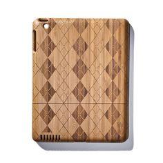 {Argyle Bamboo iPad