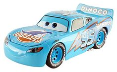 Disney Pixar Cars Dinoco Lightning McQueen Diecast Model Car 124 Scale >>> ** AMAZON BEST BUY **