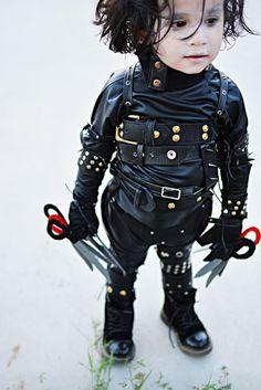 Edward Scissorhands DIY costume!