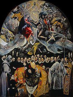 el entierro del senor de orgaz pinturas de arte