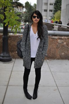 20 Wardrobe Fixes For Long Cardigan Outfits Maxi Cardigan, Long Cardigan, Oversized Cardigan, Oversized Sweaters, Casual Outfits, Cute Outfits, Fashion Outfits, Womens Fashion, Fall Winter Outfits