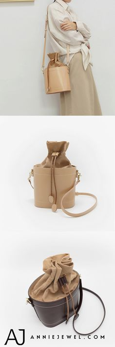 Designer Bucket Bag Genuine Leather Shoulder Bag Cross Body Bag Purse Clutch For Women - Clutches For Women, Unique Handbags, Leather Bags Handmade, Custom Bags, Crossbody Bag, Tote Bag, Leather Shoulder Bag, Cross Body, Purses And Bags