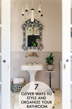 7 Clever Ways to Style and Organize Your Bathroom | eBay