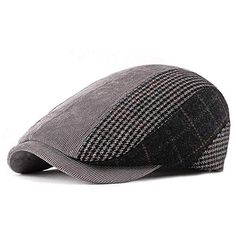 Oxford Peak Cap with Sweat Band Essential Head Wear New Plain Black /& Grey