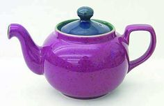 beautiful Denby Harlequin teapot!!