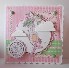 LOTV - Babies Art Pad. Card by Amanda Stokes