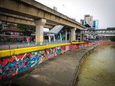 River Graffiti Art - Kuala Lumpur-1