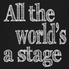 To celebrate World Theatre Day (27 March) I have chosen 15 Quotes about the Theatre. I hope you enjoy them.                      Sourcefor Image       Movies will make you famous; Television will...