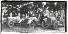 1920 Targa Florio - Alfa Romeo team Giuseppen Campari, Enzo Ferrari & Giuseppe Baldoni