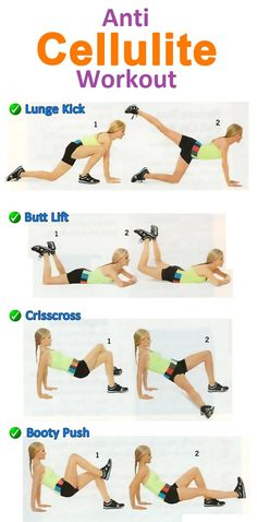"Anti Cellulite Workout And How To ""Burn The Cellulite"""