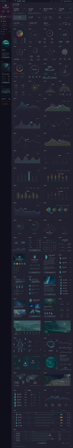 Buy ORION – Sci-Fi Dashboard by laaqiq on GraphicRiver. Modern and creative dashboard template for Photoshop focused on sci-fi theme includes widgets,. Graphic Design Layouts, Modern Graphic Design, Web Design, Dashboard Template, Dashboard Ui, Themes Free, Data Charts, Vector Shapes, User Interface Design