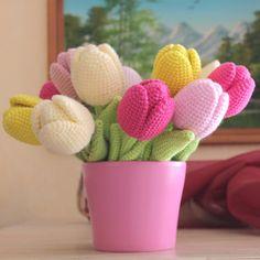 Pattern The Tulip Pdf Crochet Flower