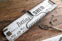 Image result for potting shed sign