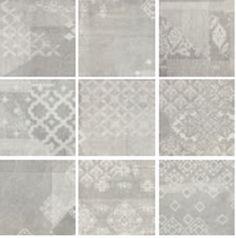 #Provenza #Gesso Dekor Patchwork Pearl Grey 20x20 cm 023x8RB | #Feinsteinzeug #Sandoptik #20x20 | im Angebot auf #bad39.de 60 Euro/qm | #Fliesen #Keramik #Boden #Badezimmer #Küche #Outdoor