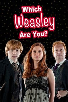 Here's a Harry Potter quiz that will determine which Weasley member you're most like! Are you more like Ron? Or maybe Ginny? Take this quiz to find out! #harrypotter #potterhead #RonWeasley