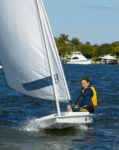 Sunfish sailing...I love this sailboat