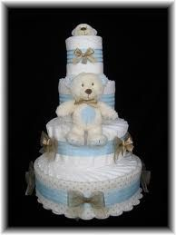 nappy cakes for shower fun!
