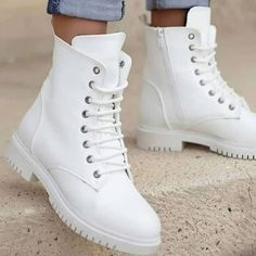 Beyaz cilt deri martines tarzı bayan botu Fiyat Numaralar 36373839 40 K… White skin leather martines style women's boots Price Numbers 36373839 40 Payment at the door, both credit card and cash payment Shipping costs 8 door fee 5 Jordan Shoes Girls, Girls Shoes, Womens Fashion Sneakers, Fashion Shoes, Crazy Shoes, Me Too Shoes, Shoe Recipe, Sneakers Mode, Aesthetic Shoes