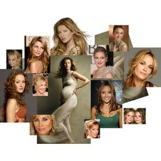 Soft Autumn Celebrities, created by authenticbeauty