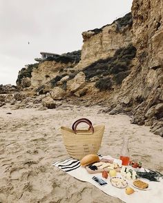 Beach picnics year round. Wouldn't want it any other way.