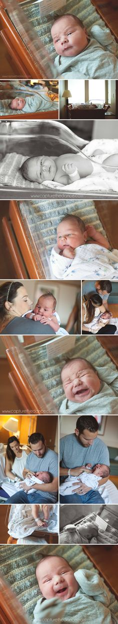 Newborn Hospital Pictures | Capture the Dance Photography