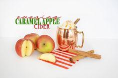 Eat: Recipe: Spiced Caramel Apple Cider - Pink Peppermint Design