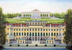 Museum, Vienna, Austria, To Go, Louvre, Paintings, Mansions, Architecture, House Styles